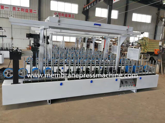 pvc decoratived 5mm wpc wall panel laminating machine