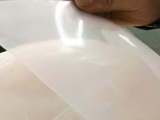 silicone membrane for vacuum forming