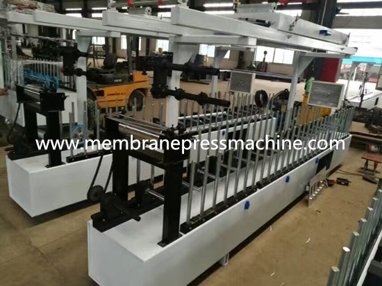 profile wrapping machine video